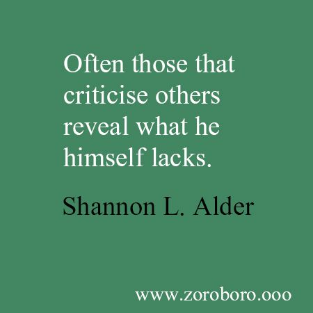 Inspirational Quotes on Criticism. Motivational Short Quotes ...