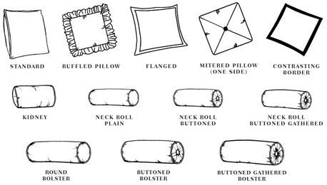 Types Of Decorative Pillow : Pillows, Decorative pillows and Google on Pinterest