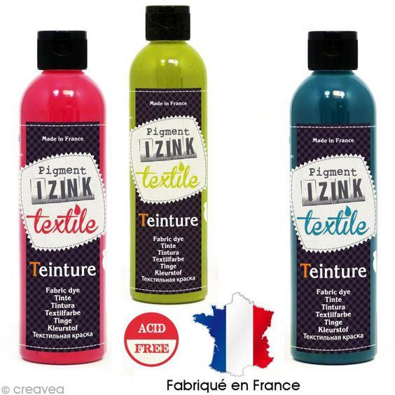 Teinture textile à froid Izink - 180 ml - 12 coloris - Photo n°1