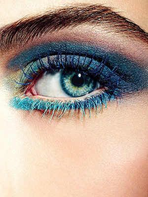 Le mascara coloré, tendance make up de l'été 2013