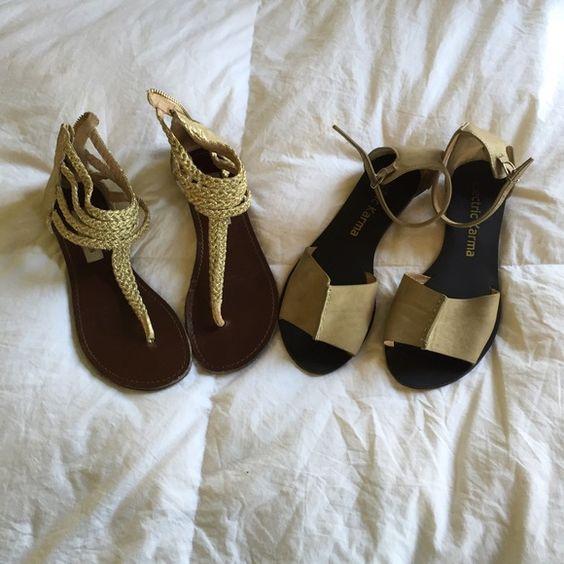 Sandal bundle- Steve Madden and electric karma Sandal bundle- Steve Madden and electric karma Steve Madden Shoes Sandals