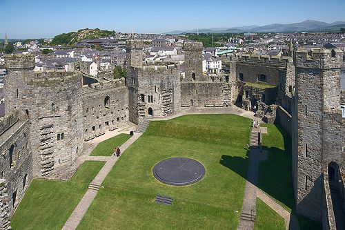 The Inner Ward, Caernarfon Castle | Flickr - Photo Sharing!