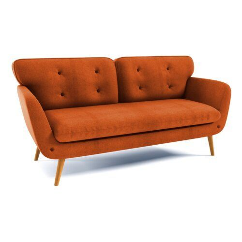 3 Sitzer Sofa Varbena Scanmod Design Polsterung Orange 3 Sitzer Sofa Varbena Scanmod Design Polsterung Orange 3sitzer Design Orange Polsterung Scanmo