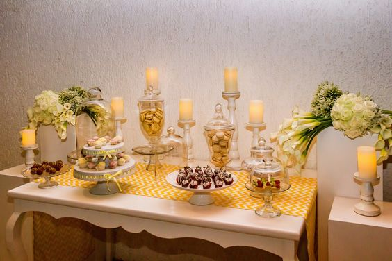 sweets table at a #Cabo #wedding