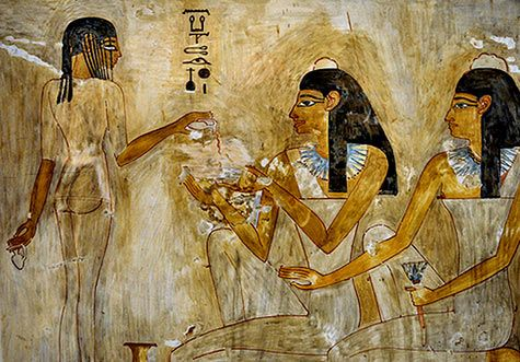 Wall paintings new york and york on pinterest for Egyptian mural paintings