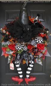 etsy halloween wreath - Google Search