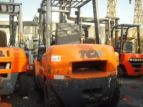 used 3ton diesel engine tcm forklift original from japan (FD30) - China used 3Ton forklift;used forklift;used tcm forklift, TCM