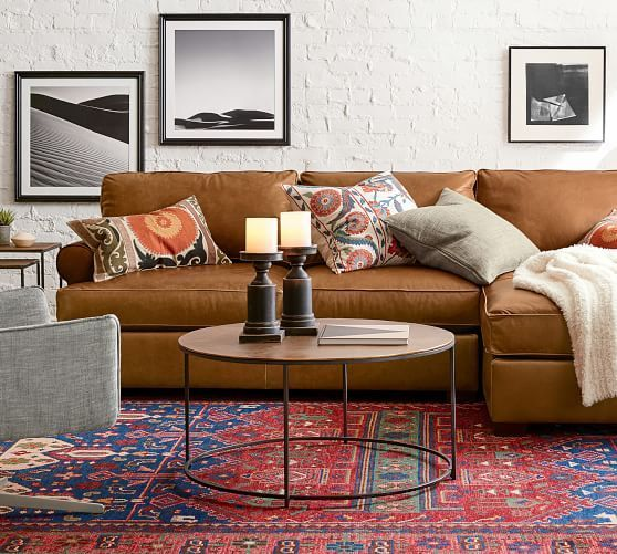 Dark Fabric Against Light Walls And Vice Versa Is One Of The Best Combinations Of Interior Leather Couches Living Room Living Room Leather Red Rug Living Room