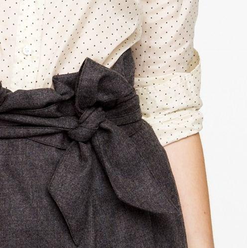 polka dots, lovely bow