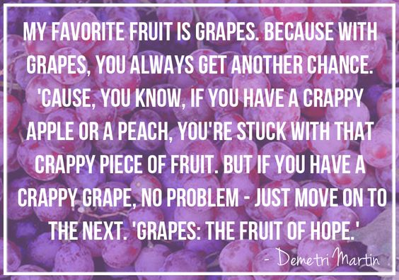 "I love Demetri Martin, and this is funny. But I almost like Gary Gulman's ""Grapes and Grapefruit"" routine more. Both funny, though. :):"
