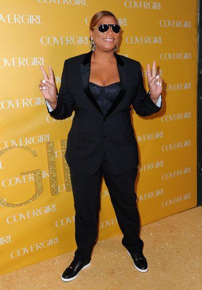 Queen Latifah Basketball Sneakers - Queen Latifah Shoes Looks | StyleBistro.com