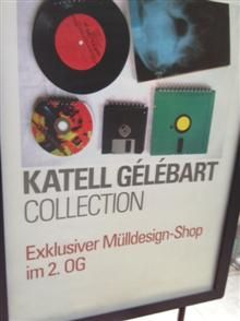 Der Mülldesignerin-Shop bei Dussmann in Berlin