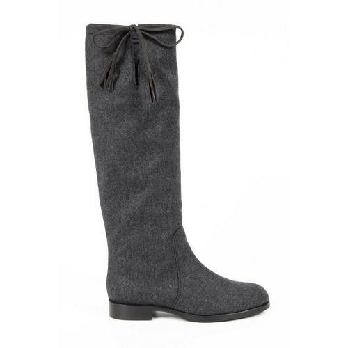 Versace 19.69 Abbigliamento Sportivo Milano ladies boots J06 TESSUTO GRIGIO