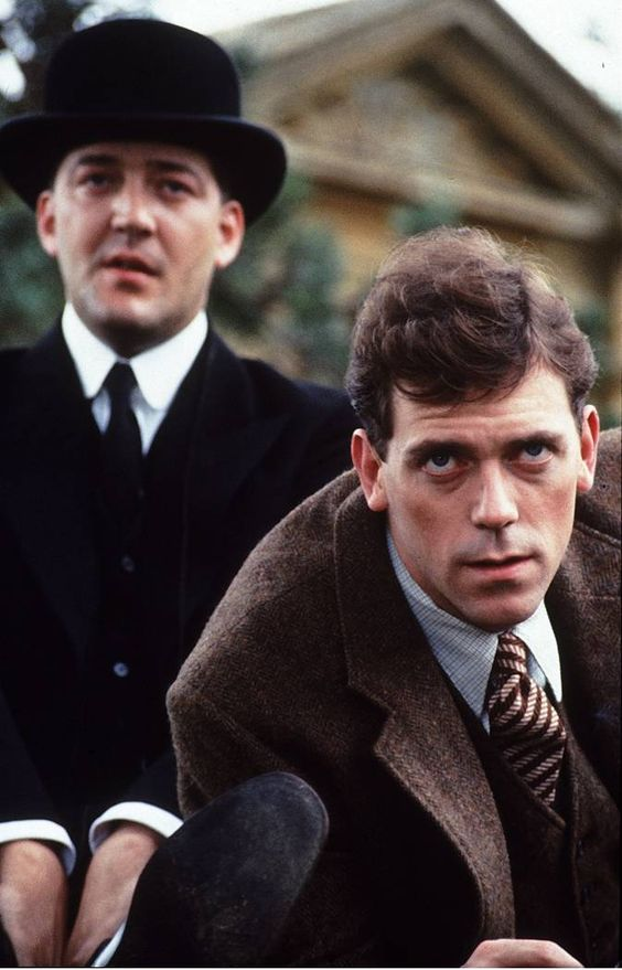 stephen fry hugh laurie jeeves bertie wooster thank you p g wodehouse foreign films. Black Bedroom Furniture Sets. Home Design Ideas