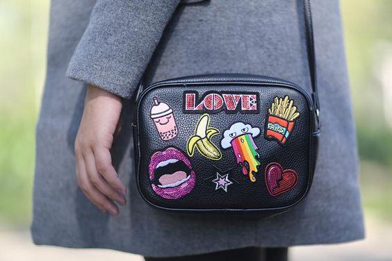 Tutorial – Customize uma bolsa com patches: