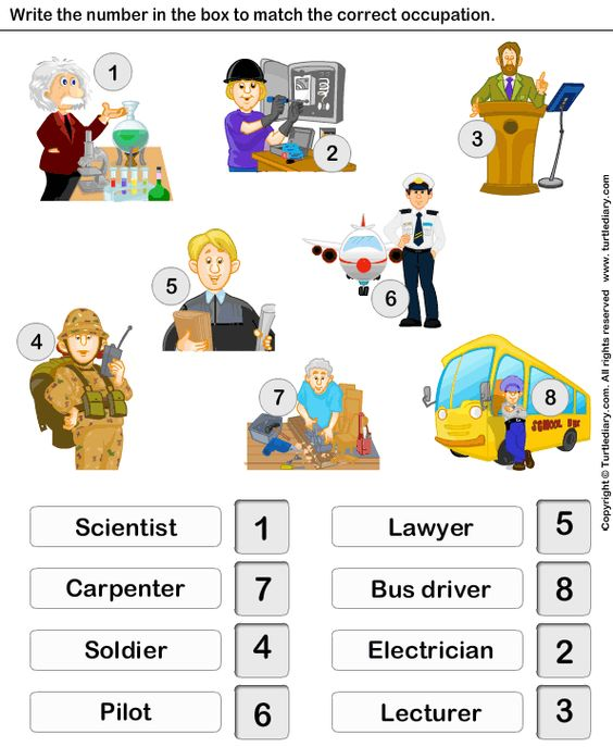 Educational Games Fun Games For Kids Worksheets For Kids Community Helpers Preschool Kindergarten Worksheets Pre vocational worksheets
