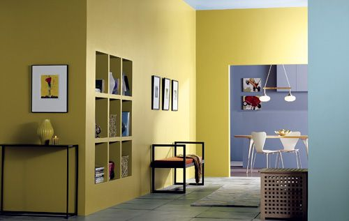 Interior paint ideas ideas para pintar la casa for Indoor paints color ideas