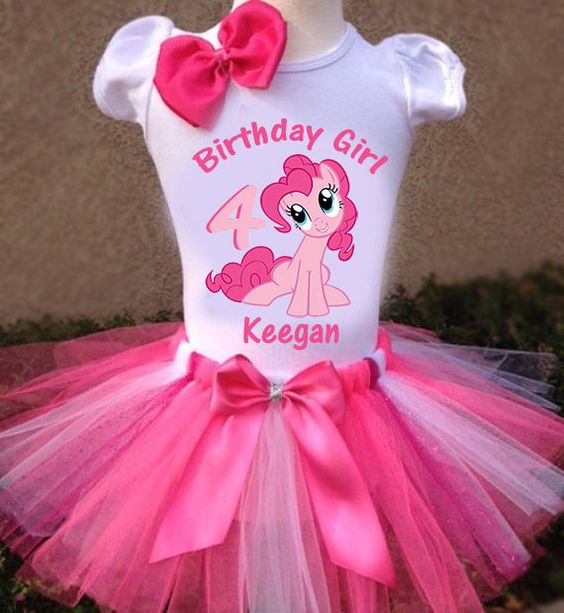 My Little Pony Pinkie Pie Tutu Outfit...... by LorisLittleLovlies: