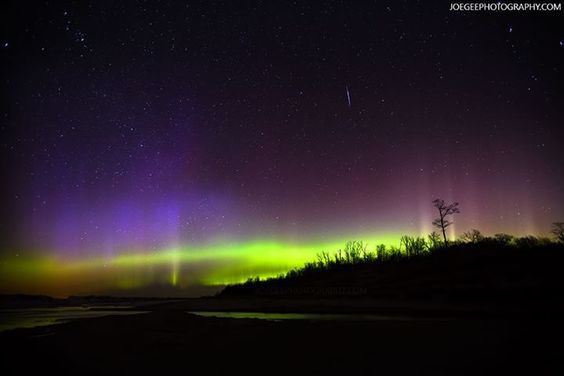 Pin By Heidi Fagan On Michigan Home Sweet Home Northern Lights Pure Michigan Natural Landmarks