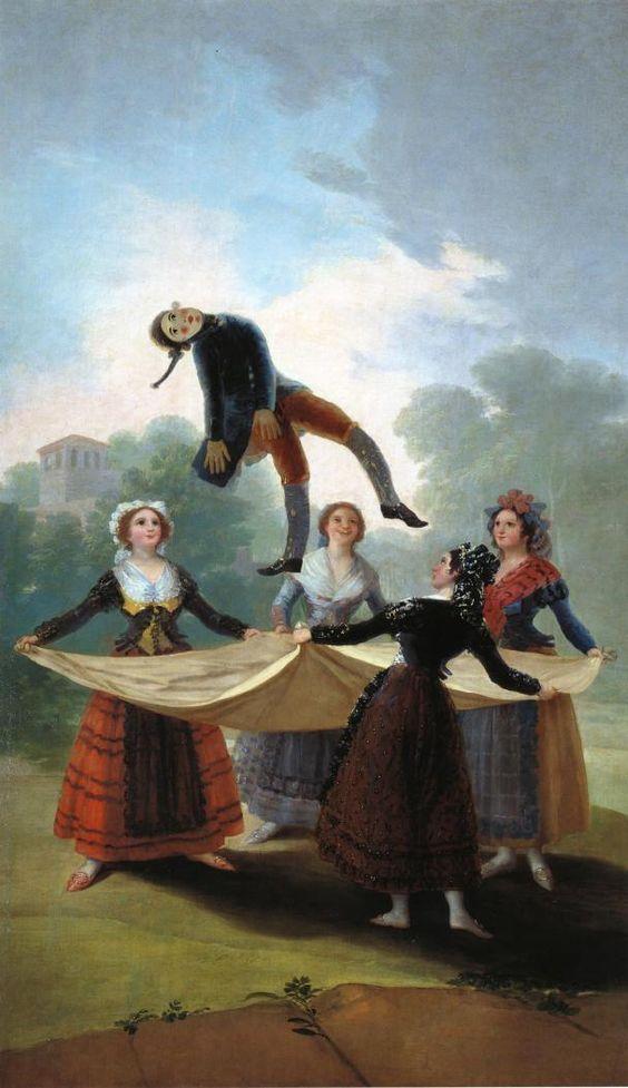 Francisco de Goya El maniquí de paja. #Arte