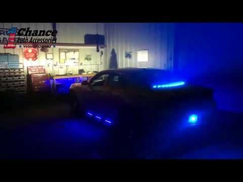 Dodge Charger Custom Led Exterior Lights Dodge Charger Decoration Lumineuse Voiture