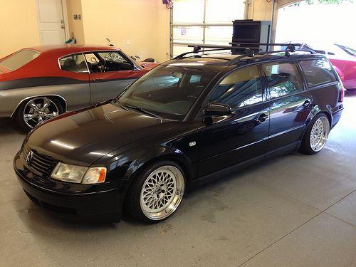 Lowered 2000 Passat Wagon GLX V6 StanceWorks Luv dem