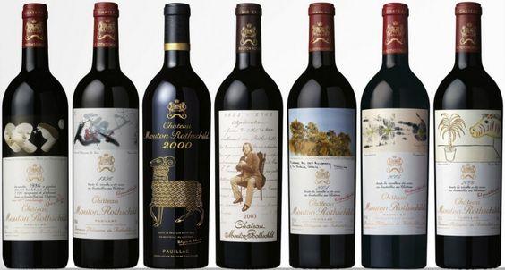 Château Mouton Rothschild revela rótulo para safra de 2012