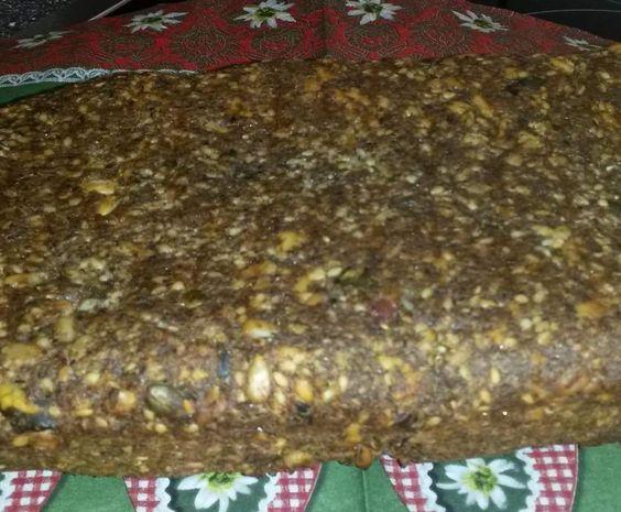 Rezept Saatenbrot ~ glutenfrei, milchfrei, eifrei - OHNE Nüsse von flipper1967 - Rezept der Kategorie Brot