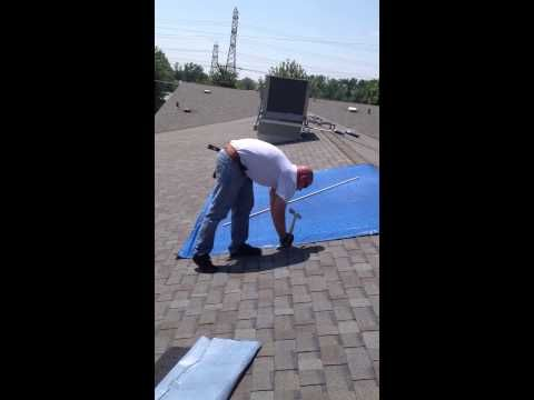 Temporary Fix For A Leaking Roof Roof Repair Roof Leak Repair Leaking Roof