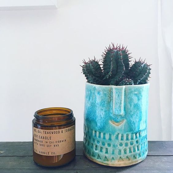 Sometimes you have great plans for your bank holiday weekend, and sometimes those plans get derailed by evil period cramps from hell - resulting in having to waste a weekend in bed with a never ending supply of hot water bottles and cups of tea. When that happens you treat yourself to candles and plant babies, because you deserve it! 🌵🌵🌵