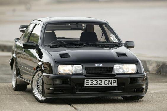Ford Sierra Cosworth RS500 - Compomotive CXN 3 piece wheels www.truefleet.co.uk