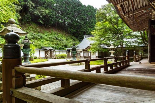 Kyoto area, Mt. Hiei, Enryaku-ji, Jodo-in