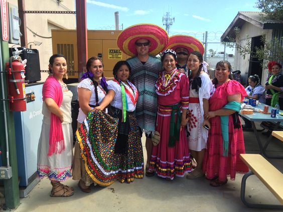 Mexican Attire Day! Martha, Patty, Roselia, Garth, Paula, Pilo, Candy, & Angelica! #AmericanHatMakers