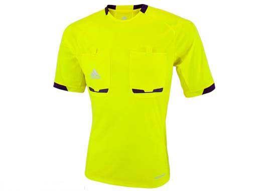 Adidas Referee 12 Jersey Lemon Peel Purple Beauty Mens Tops Jersey Referee