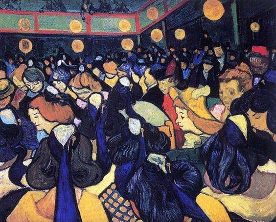 Toulouse-Lautrec 1888 Vincent Van Gogh Salle de Danse à Arles #France #Paris @deFharo