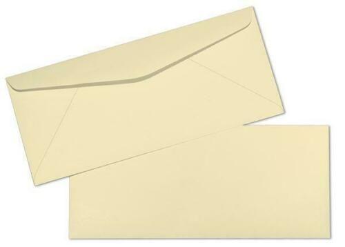 "4 1//8 x 9 1//2/"" 500 Per Pack Pastel Green #10 Color Business Envelopes"