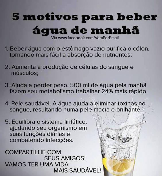 Motivos para beber água de manhã. Saiba como fazer mais coisas em http://www.comofazer.org:
