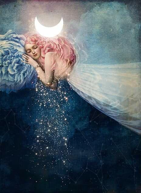 @solitalo Desde el cielo traigo estrellas de luna para ti… No solo te protegerán, sino que guiarán tu camino. Todo lo que hoy hagas, será fructífero, fecundo. Mi presencia es un símbolo de la…