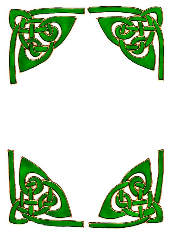 Border Designs Clip Art | Celtic Borders 092012 | Irish ...