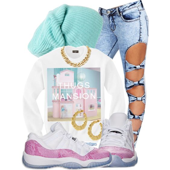 Dope Outfits created by fashionkillabish on Polyvore | Clothes I want | Pinterest | Everything ...