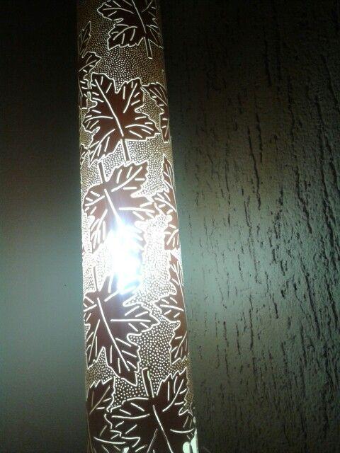 Luminária Folhas