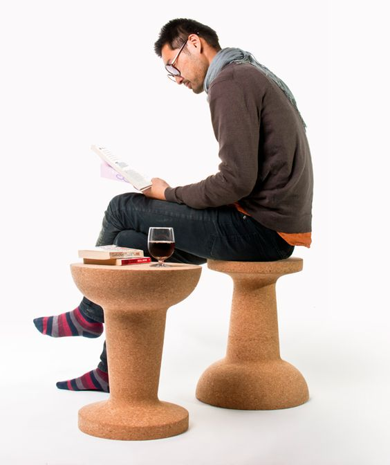 Cork Stool One Flip Away From Becoming A Table
