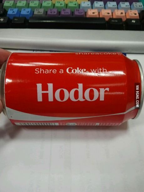 I would love to share a Coke with him