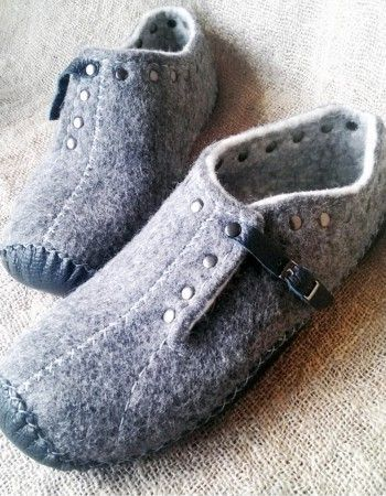 men's slippers by Alla Halay