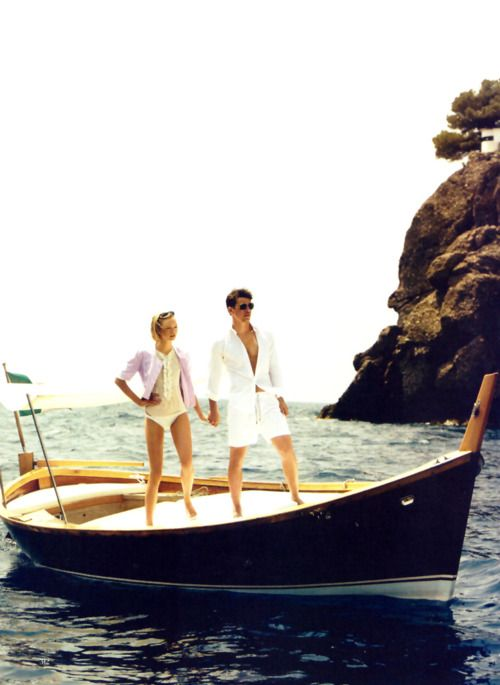 Gemma Ward and Josh Hartnett for Vogue November 2005