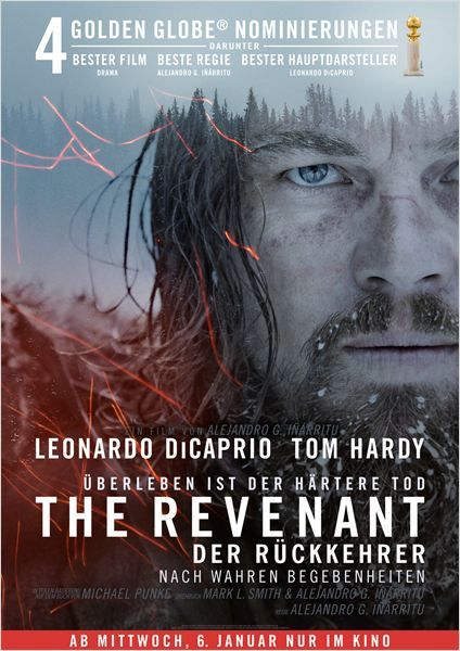 Image result for revenant movie poster