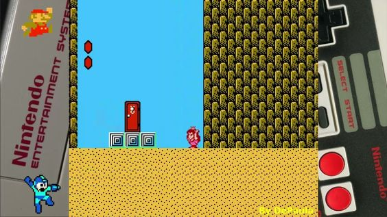 Super Mario Bros 2 (NES) Gameplay Fase 6-3 + Chefe (Passagem Secreta)