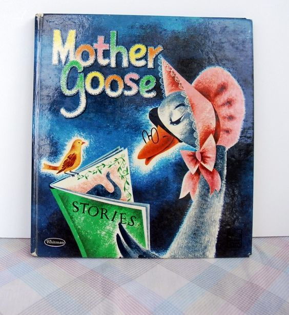 Image result for vintage pics Mother Goose Day