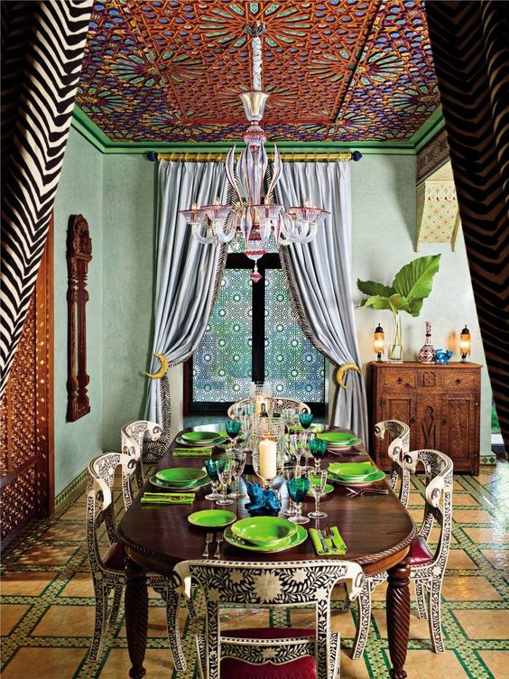 Veronica Webb's Key West, Florida, home channels traditional Moroccan style