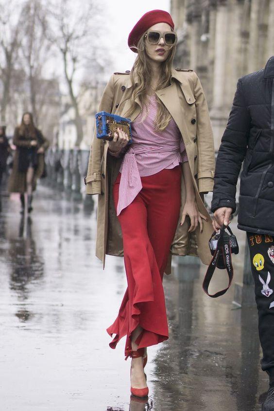 Best Paris Fashion Week Street Style Fall 2017 | POPSUGAR Fashion Photo 150